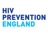HIV prevention England logo
